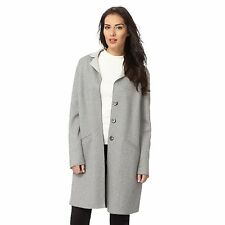 The Collection Womens Grey Unlined Knitted Jacket From Debenhams