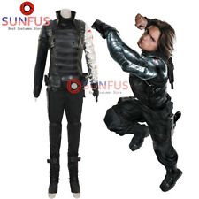 Winter Soldier Avengers CAPTAIN AMERICA 2 WINTER SOLDIER Bucky Barnes costume