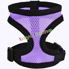Pet Harness Soft Mesh Pet Control Harness Walk Collar Safety Strap Dog Cat Vest