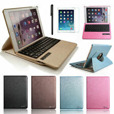 360 Luxury Rotating Leather Cover Bluetooth Keyboard Case For iPad Air /IPAD 5