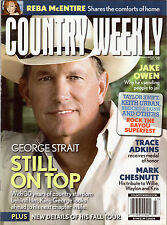 Keith Urban, George Strait, Reba McEntire, Country Weekly Magazine June 5, 2010