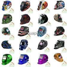 Solar Automatic Darkening Welding Helmet Face Shield Grinding Mask w/ 3 Lens