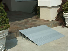 Handicap Entry Threshold Access Ramp Light Aluminum Wheelchair Mobility Ramps