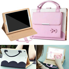 Fashion Carrying Handbag Leather Stand Case Cover for iPad Pro mini 2/3/4/5/Air2