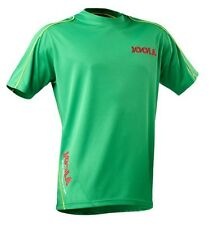 JOOLA COMPETITION GREEN TABLE TENNIS SHIRT - AMAZING VALUE - ONLY £12.50!!!