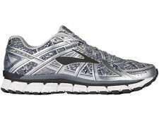 NEW WOMENS BROOKS ADRENALINE GTS 17 RUNNING SHOES TRAINERS GREY / BLACK / SILVER