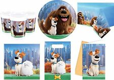 NEW The Secret Life of Pets Birthday Party Supplies Tableware Plates Napkins
