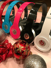 Beats by Dr. Dre Solo HD Headband Headphones - White Red Black Blue Pink