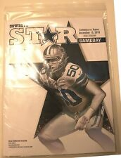 VARIOUS DALLAS COWBOYS GAMEDAY SOUVENIR PROGRAMS – NEW