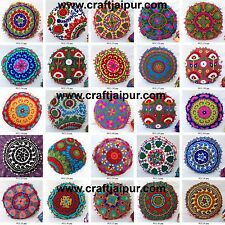 Indian Cushion Covers Suzani Woolen Embroidered Handmade Decorative Pillow Cases