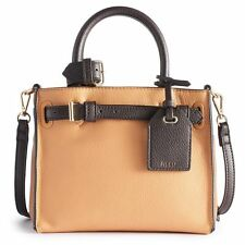 NEW! REED by Reed Krakoff Small Handbag Satchel Tote - Faux Leather NWT