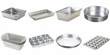 Nordic Ware Natural Aluminum Commercial Cake, Loaf, Pizza, Muffin Pans, 15 Types