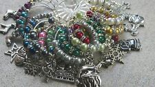 Christmas Wine Glass Charms~ Napkin Rings~ Table Decorations  Mix of Charms