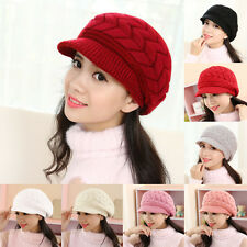 Hot Women Ladies Beret Slouch Ski Cap Winter Warm Baggy Beanie Knit Crochet Hat