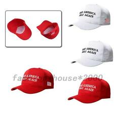 Chic Make American Great Again Adjustable Baseball Cap USA Flag Embroidered Hat
