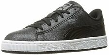 PUMA 36358501 Girls Basket Holiday Glitz Jr Sneaker- Choose SZ/Color.