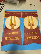 1958 STUDEBAKER GOLDEN HAWK BANNERS