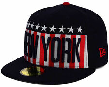 New York Yankees New Era MLB Big USA 59FIFTY Fitted Navy Hat Cap NWT