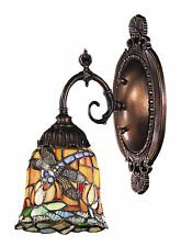Dragonfly Mix-N-Match 1-Light Tiffany-Style Wall Sconce by ELK Lighting