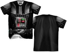 Darth Vader Sublimated Costume Tee T-Shirt Sublimation New Shirt Tee