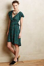 NWT Anthropologie Ruffled Wrap Dress by HD in Paris Size 12
