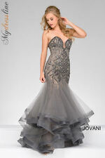 Jovani 45550 Evening Dress ~LOWEST PRICE GUARANTEED~ NEW Authentic Formal Gown