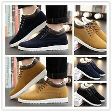 Men's Casual Winter Snow Boots Thicken Cotton Warm Flat  Suede Sneakers Shoes