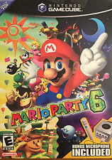 Nintendo Game Cube Mario Party 6 Video Game BRAND NEW in Original Box