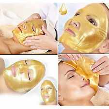 5 X Crystal Gold Collagen Facial Face Mask Anti-Aging Moisturizing Skin Care LS