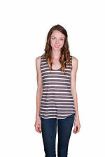 Velvet by Graham and Spencer Caddy Striped Tank Top