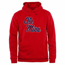 Ole Miss Rebels Scarlet Classic Primary Pullover Hoodie - College
