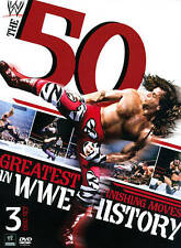 WWE: The 50 Greatest Finishing Moves in WWE History (DVD, 2012, 3-Disc Set)