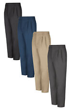 Red Kap Men's Industrial Pants pleated Work Uniform Irregular PT38 Many Colors