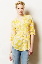 NIP Anthropologie Pintucked Buttondown by Maeve Sz 4