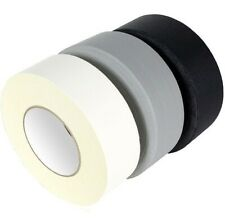 """""""STRONG DUCK DUCT GAFFA GAFFER WATERPROOF CLOTH WHITE/BLACK/SILVER TAPE50MMx50M"""""""