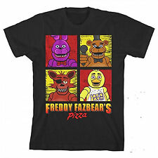 Five Nights At Freddy's Squares Youth Tee Shirt NEW FNAF Kids Teens