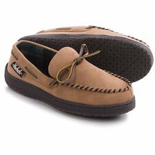 Mens Woolrich Trapper Moccasin Slippers Soft Brushed Linning & Indoor/Outdr Sole