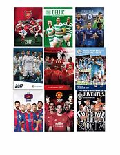 2017 OFFICIALLY LICENSED SOCCER CLUB CALENDARS CHOOSE FROM DROP DOWN MENU