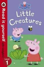 Early - Read it Yourself Ladybird - Level 1 - PEPPA PIG: LITTLE CREATURES - NEW