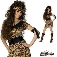 Adult Cave Girl Costume Sexy Fancy Dress Stone Age Woman Outfit