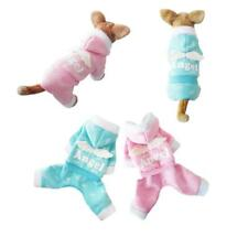 Pet Dog Puppy Angel Clothes Warm Hoodie Jumpsuit Coat Jacket Apparel Costume