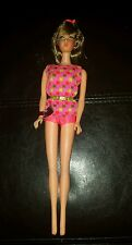 VINTAGE 1966 BRUNETTE TWIST 'N TURN NEW BARBIE DOLL #1160