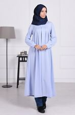 Sefamerve Blue Hijab Dress