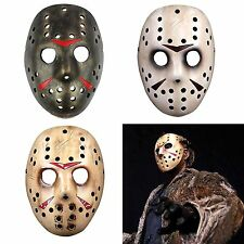 HOT Horror Movie Friday the 13th Jason Voorhees Hockey Mask Vintage Cosplay