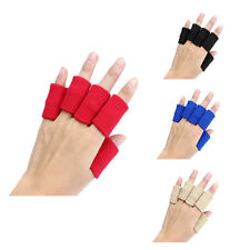 10pcs Stretch Sports Basketball Finger Guard Support Sleeves Protector BF
