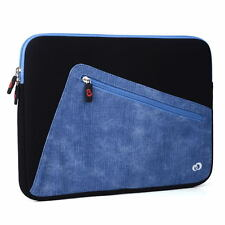 "Neoprene Sleeve Case Bag for 11.6"" - 13.5"" Laptop Notebook with Padded Interior"