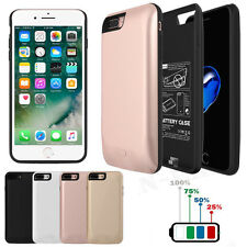 For iPhone 7 7Plus External Backup Battery Case 5200mAh Charger Power Bank Cover