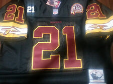 Brand New Washington Redskins #21 Sean Taylor Throwback 2Patches Jersey Mens LG