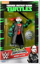 Teenage Mutant Ninja Turtles WWE TMNT SUPERSTARS RAPHAEL STING New RARE
