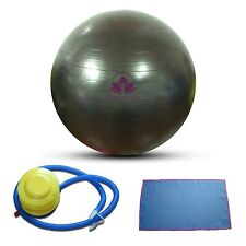 NEW Clever Yoga Ball   Stability Exercise Fitness Red Black 65cm 75cm Anti-Burst